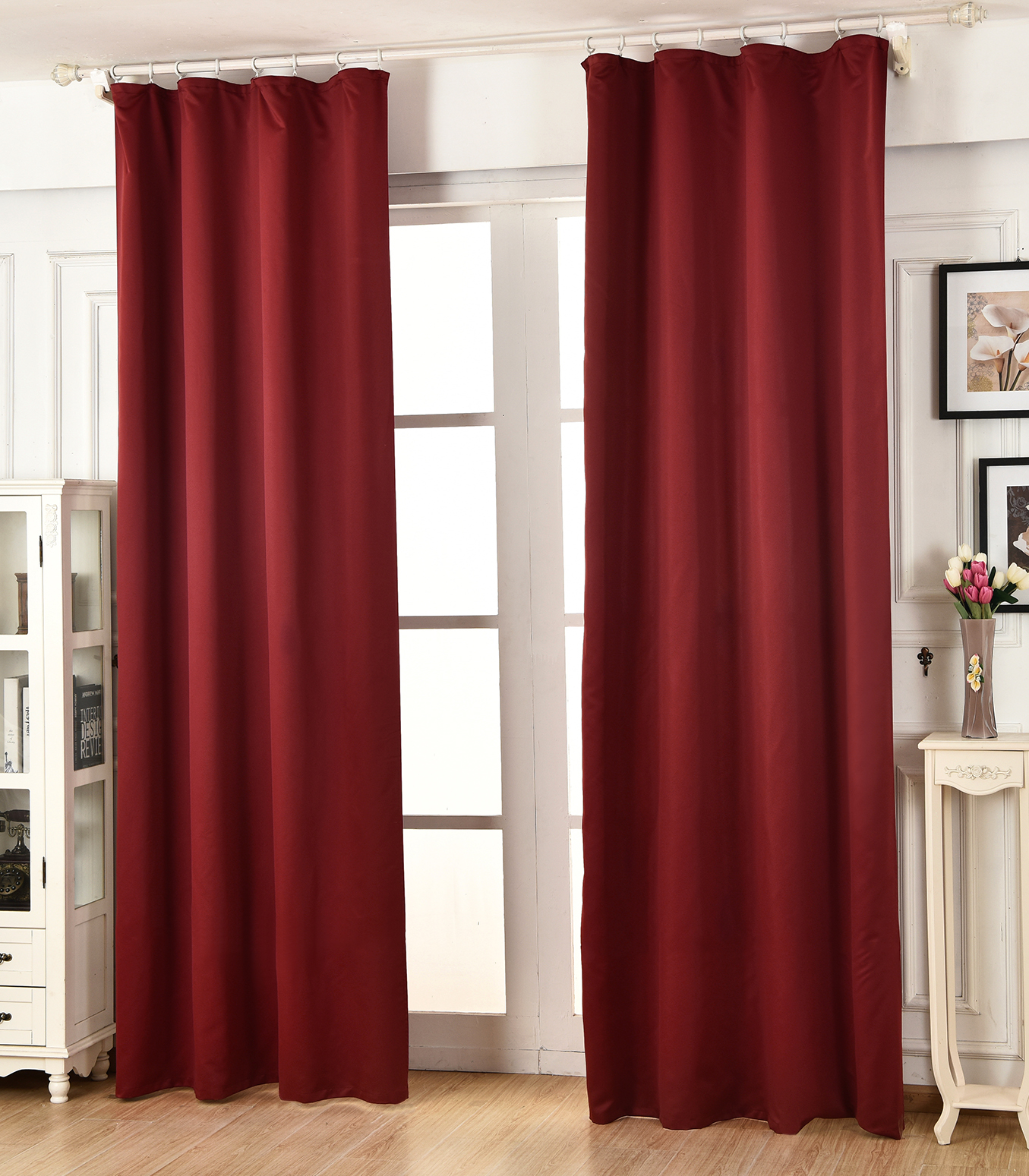 vorhang blickdicht leicht verdunkelung gardinen mit kr uselband matt crush 489 ebay. Black Bedroom Furniture Sets. Home Design Ideas
