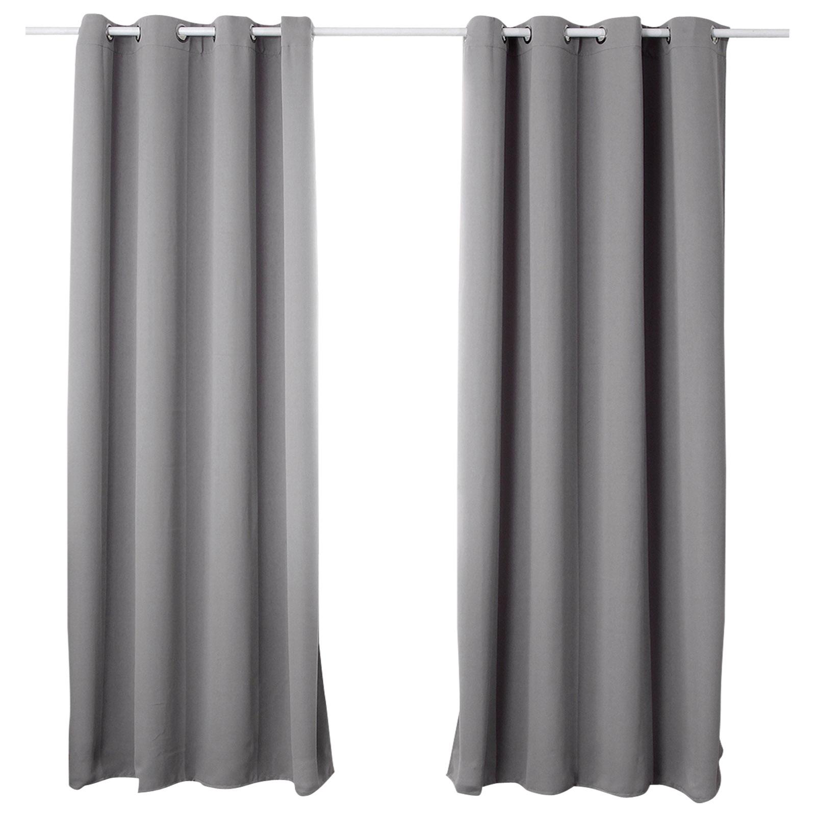 gardinen vorhang blickdicht mit sen thermo verdunkelung 250g m2 matt 329 a ebay. Black Bedroom Furniture Sets. Home Design Ideas
