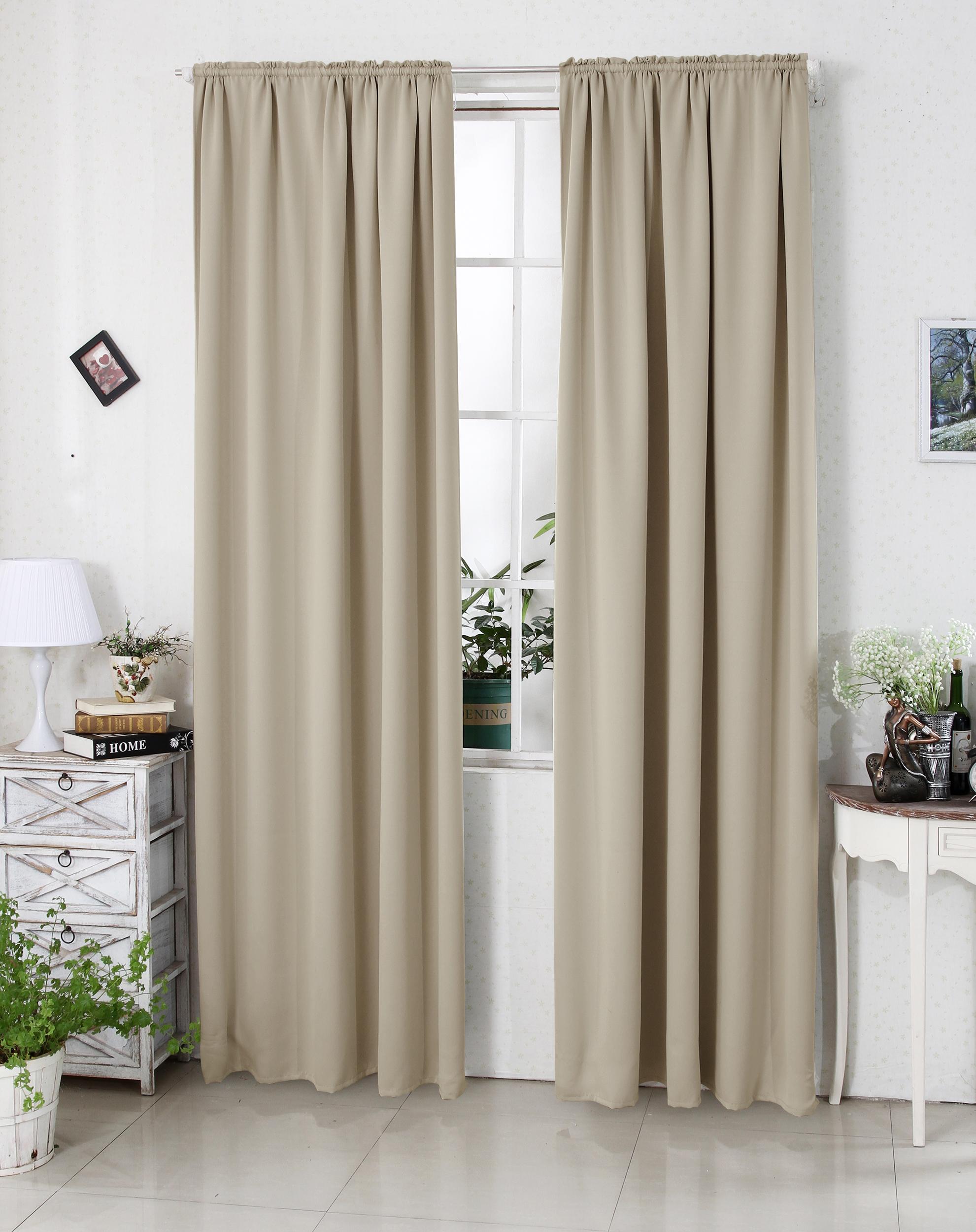 vorhang blickdicht mit kr uselband gardine thermo verdunkelung 250g m2 330 a ebay. Black Bedroom Furniture Sets. Home Design Ideas