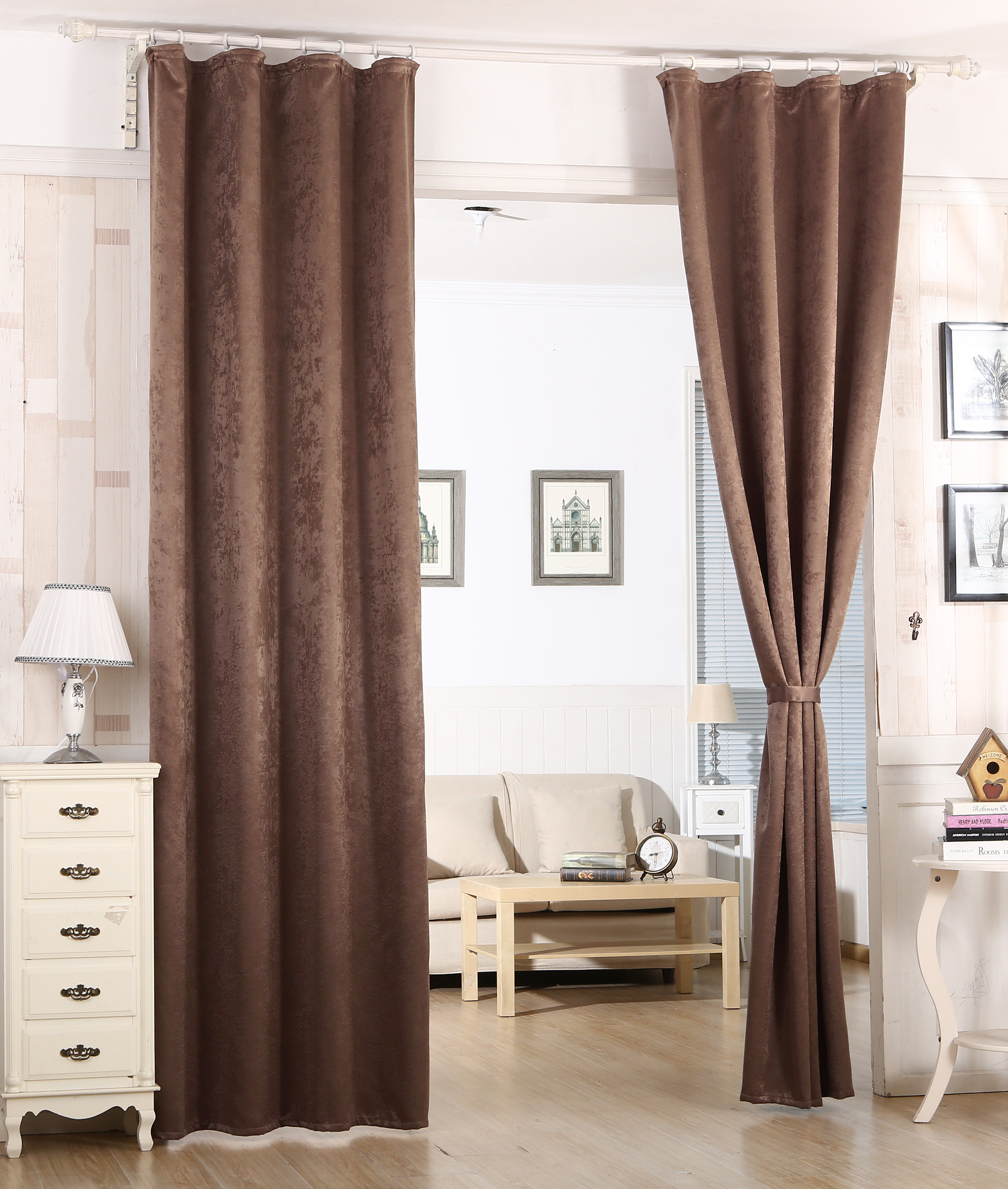 gardine blickdicht kr uselband thermogardine verdunkelungsgardine vorhang 341 ebay. Black Bedroom Furniture Sets. Home Design Ideas