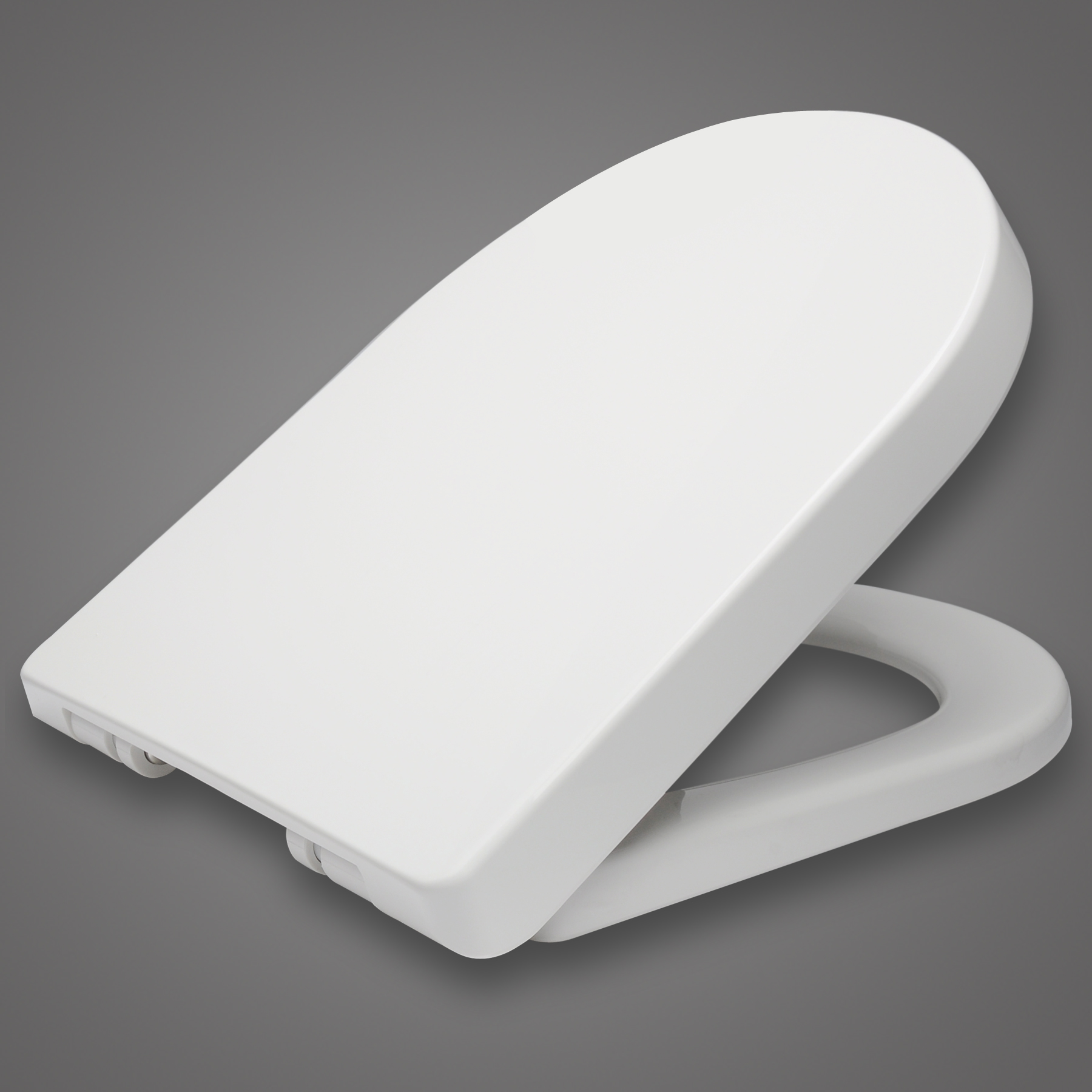 toilettensitz wc deckel klodeckel mit absenkautomatik sitz brille wei 62 1 ebay. Black Bedroom Furniture Sets. Home Design Ideas