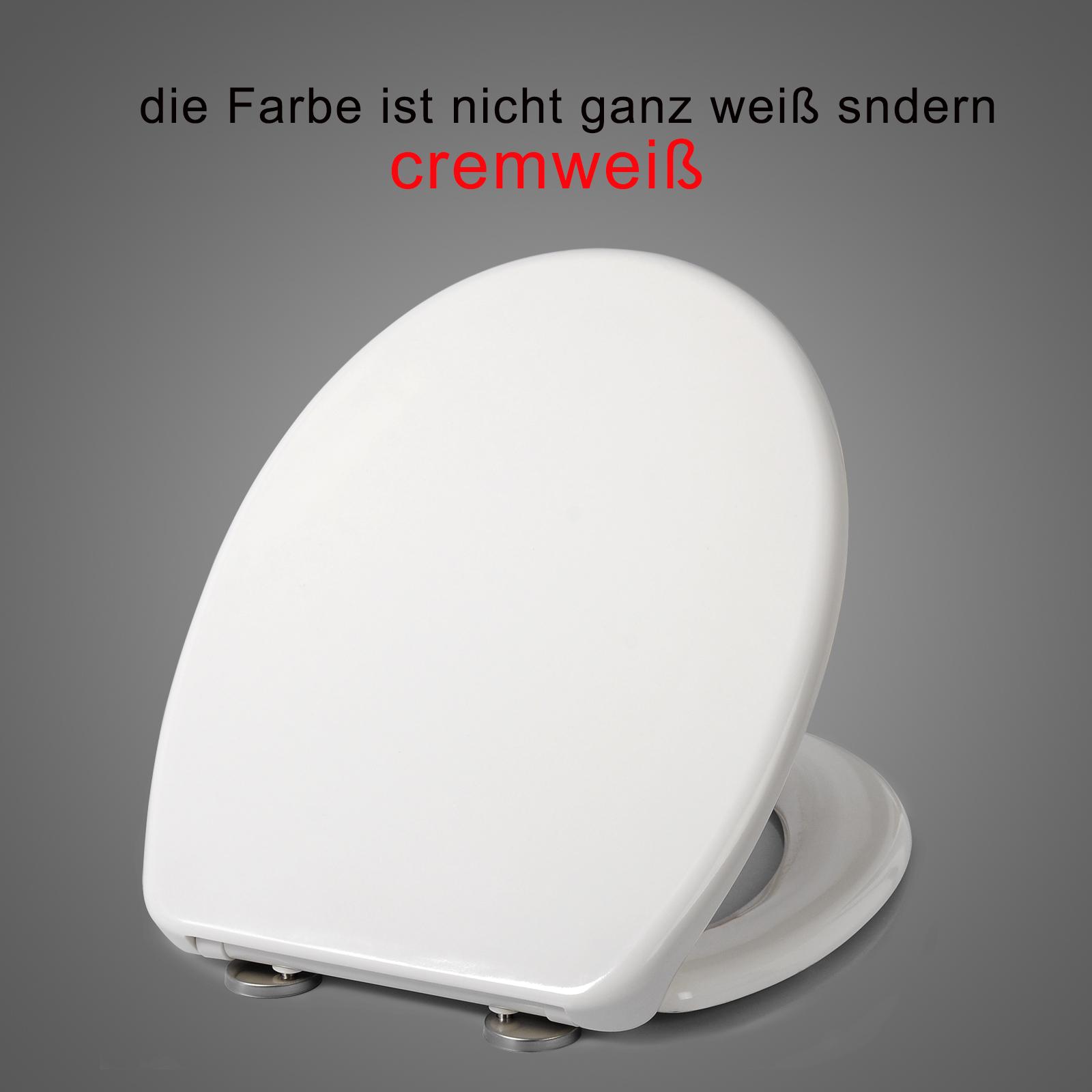 abattant wc en duroplast plastique wc de couvercle softclose blanc f169 ebay. Black Bedroom Furniture Sets. Home Design Ideas