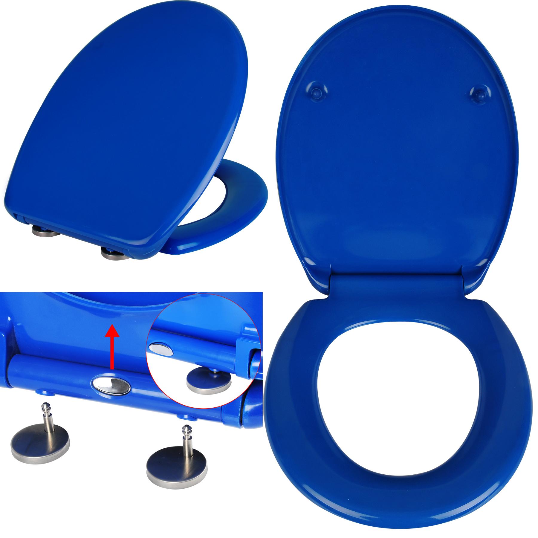 toilettensitz toilettendeckel wc sitz duroplast absenkautomatik klodeckel ws2597 ebay. Black Bedroom Furniture Sets. Home Design Ideas