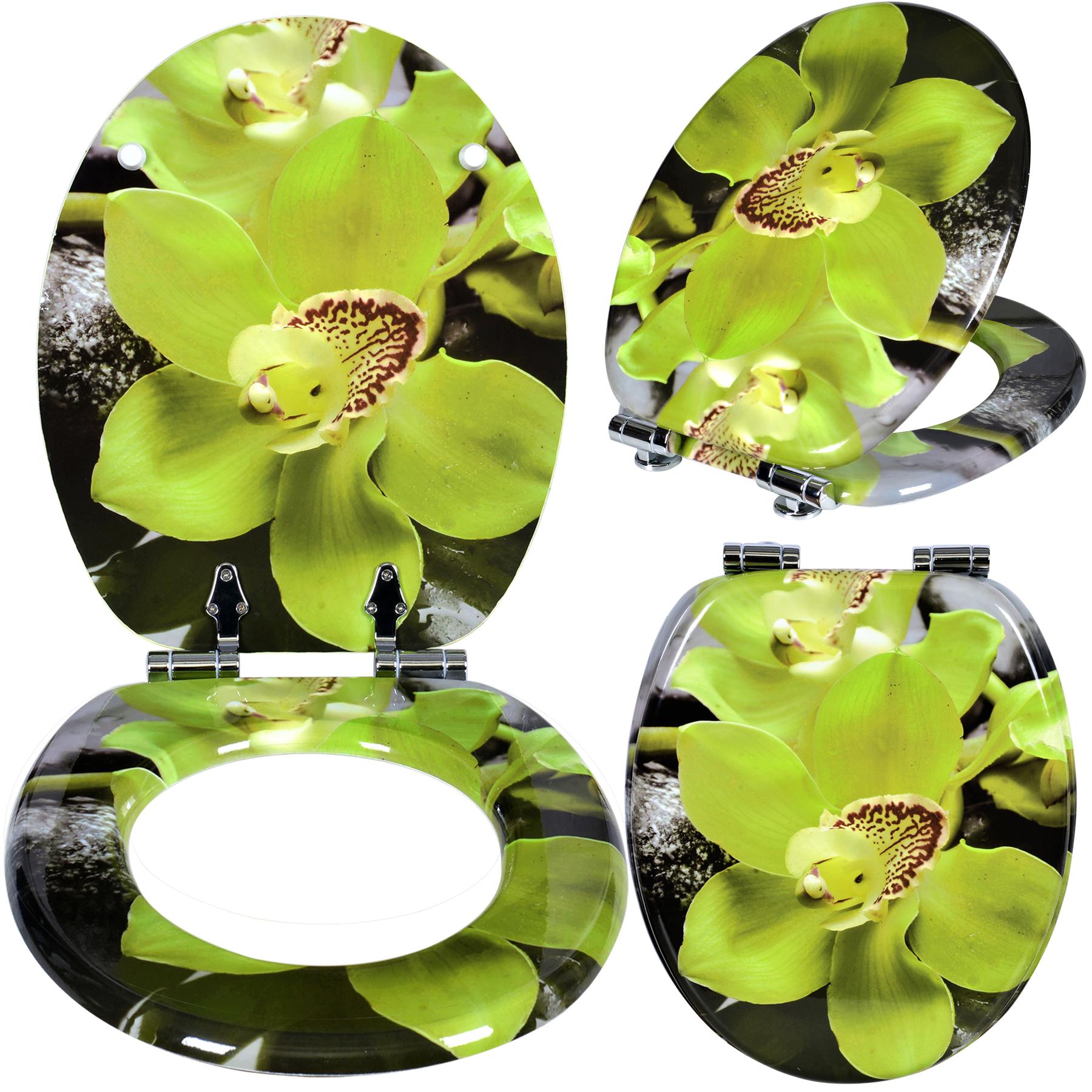 toilettensitz wc sitz toilettendeckel wc sitze deckel klodeckel brille gr n 162 ebay. Black Bedroom Furniture Sets. Home Design Ideas
