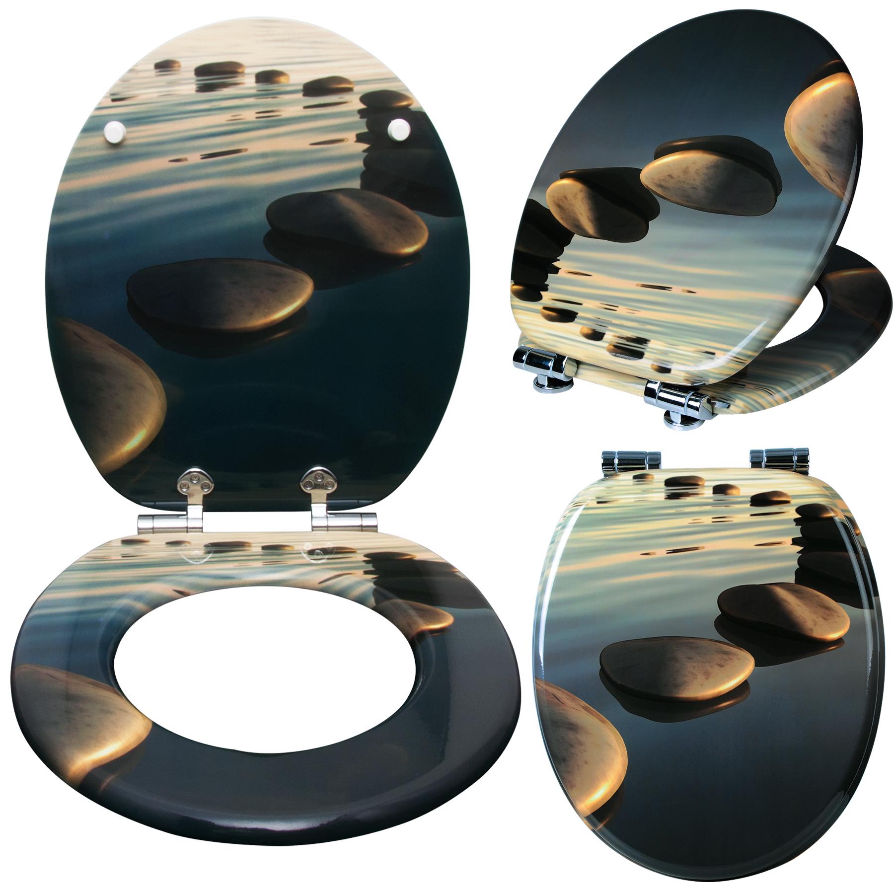 toilettensitz wc sitz klodeckel mdf brille klobrille deckel toilettendeckel 95 ebay. Black Bedroom Furniture Sets. Home Design Ideas