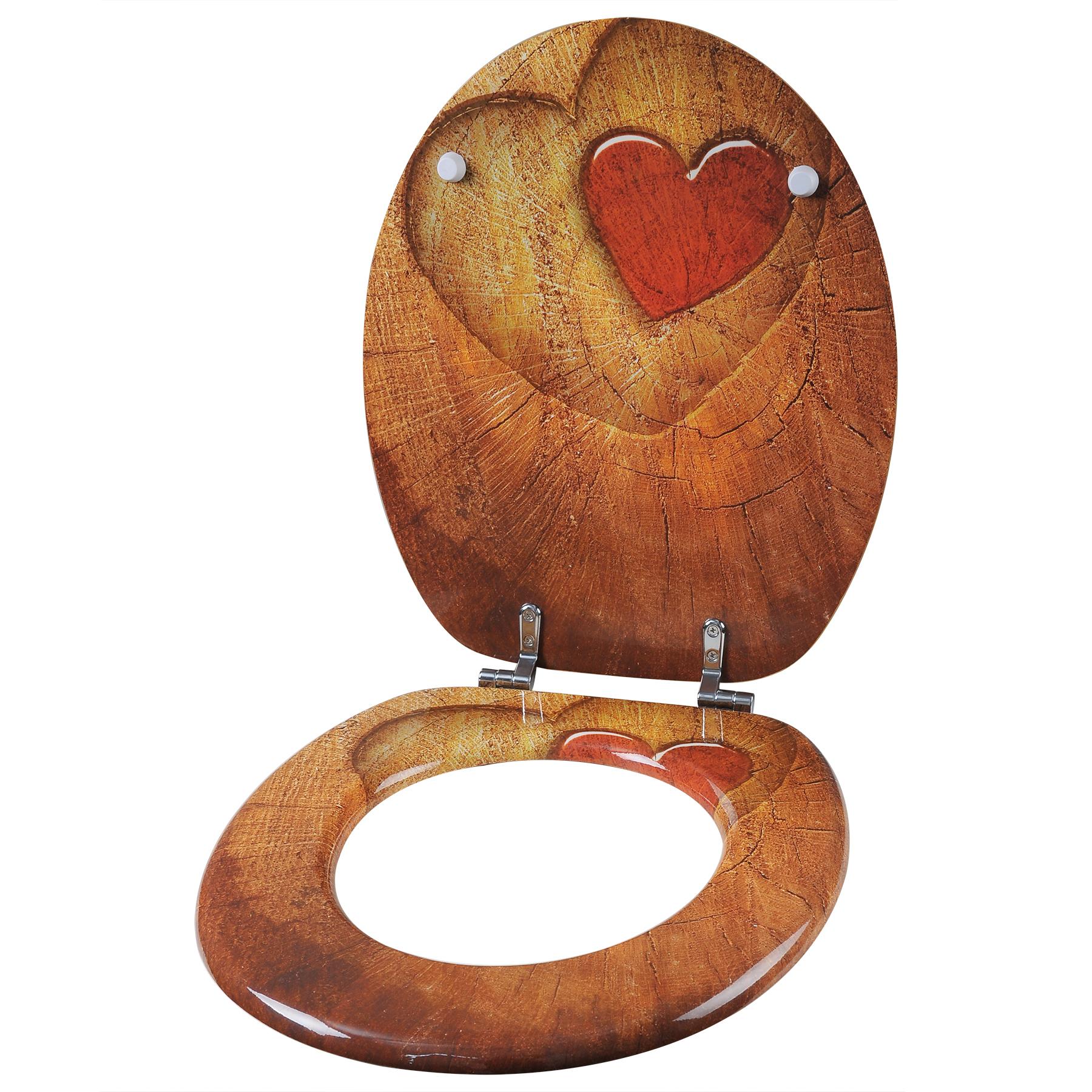 wc sitz klodeckel toilettensitz holz mdf toilettendeckel deckel klobrille ws2656. Black Bedroom Furniture Sets. Home Design Ideas