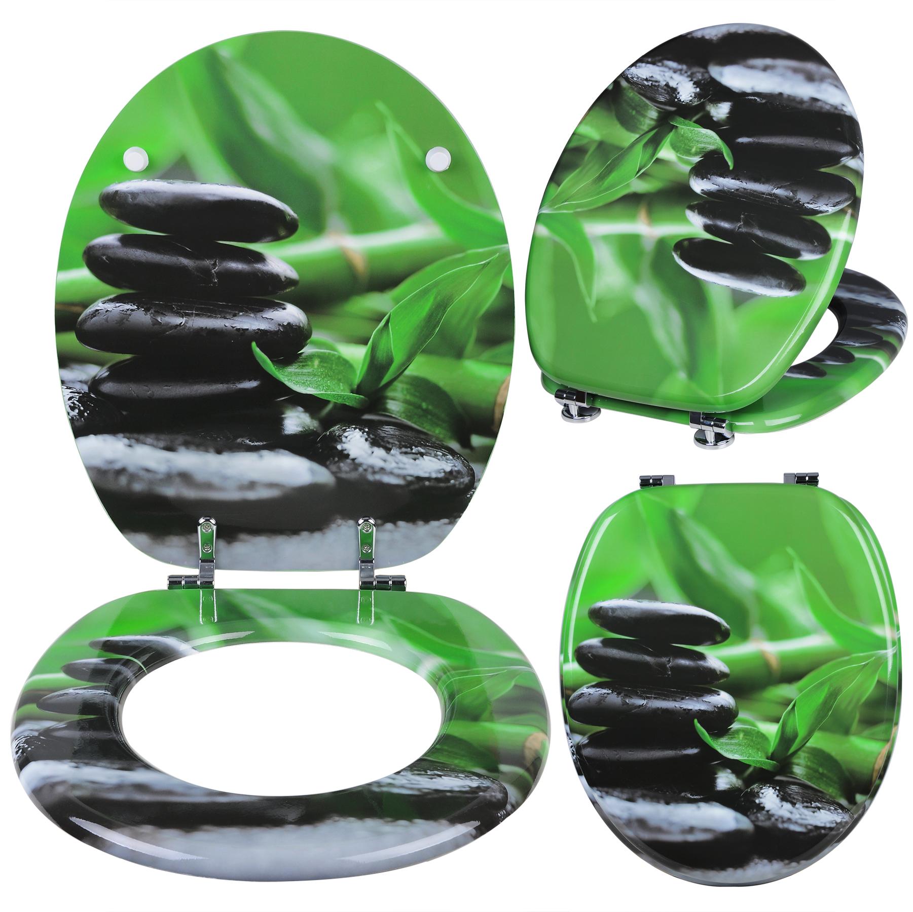 wc sitz toilettendeckel mdf holz klodeckel wc deckel toilettensitz brille 186 ebay. Black Bedroom Furniture Sets. Home Design Ideas
