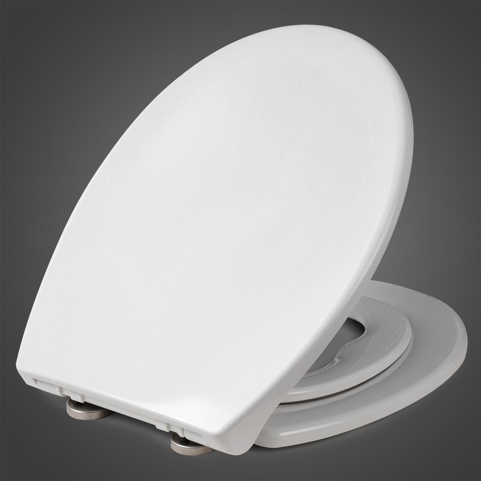 toilettensitz wc sitz deckel duroplast toilettendeckel mit kindersitz ws2720 ebay. Black Bedroom Furniture Sets. Home Design Ideas