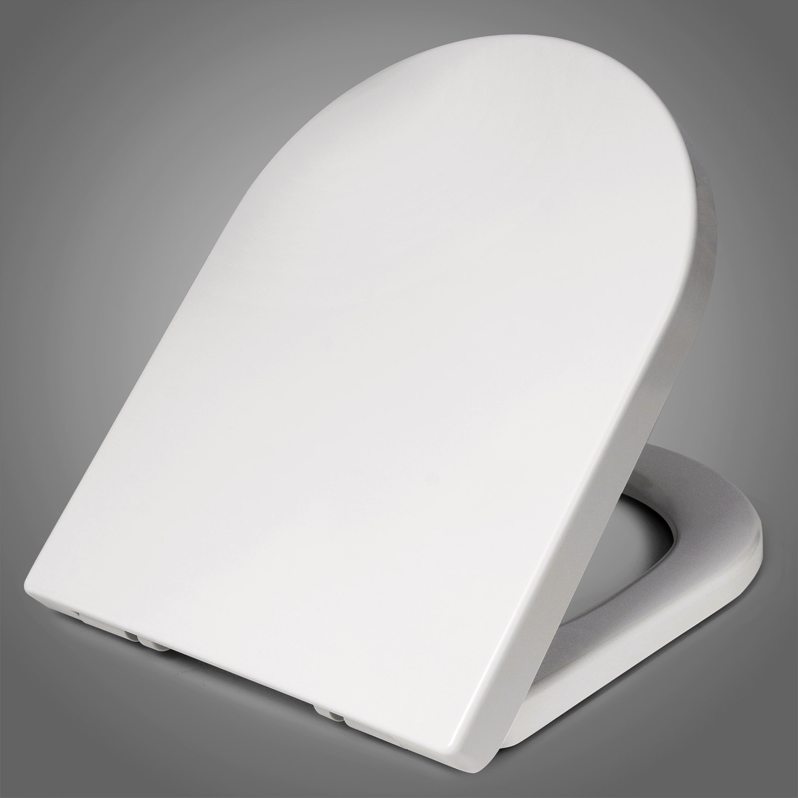 WC Sitz Toilettendeckel Klodeckel ABSENKAUTOMATIK