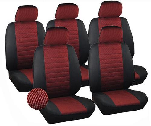 5 x auto sitzbez ge einzelbezug f r pkw van ohne seitenairbag rot 7233 5 ebay. Black Bedroom Furniture Sets. Home Design Ideas