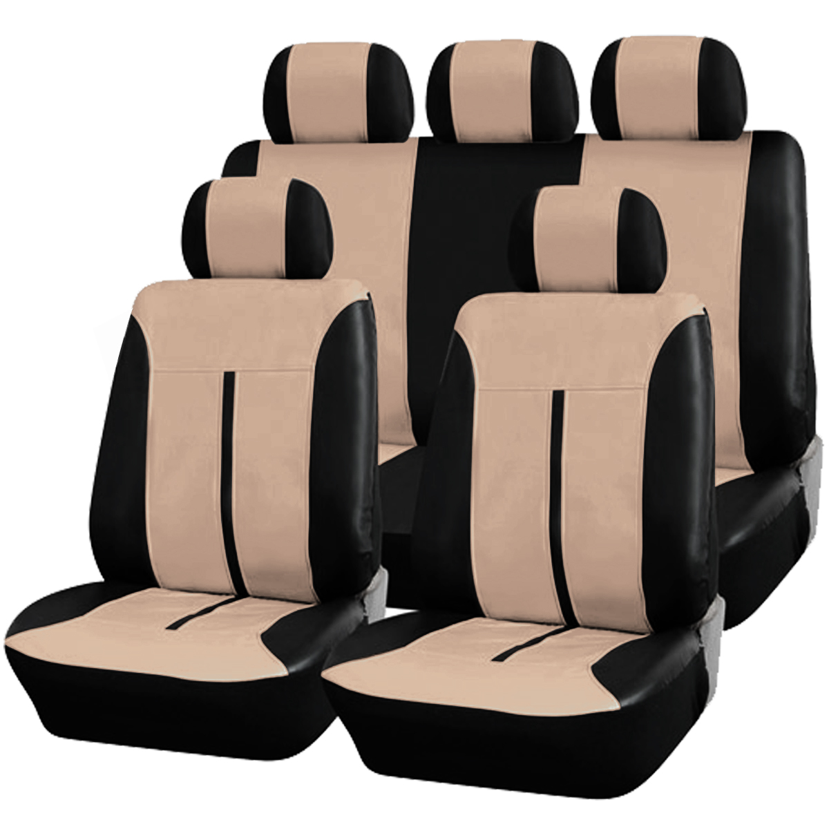 auto sitzbezug sitzbez ge schonbez ge universal leder neu. Black Bedroom Furniture Sets. Home Design Ideas