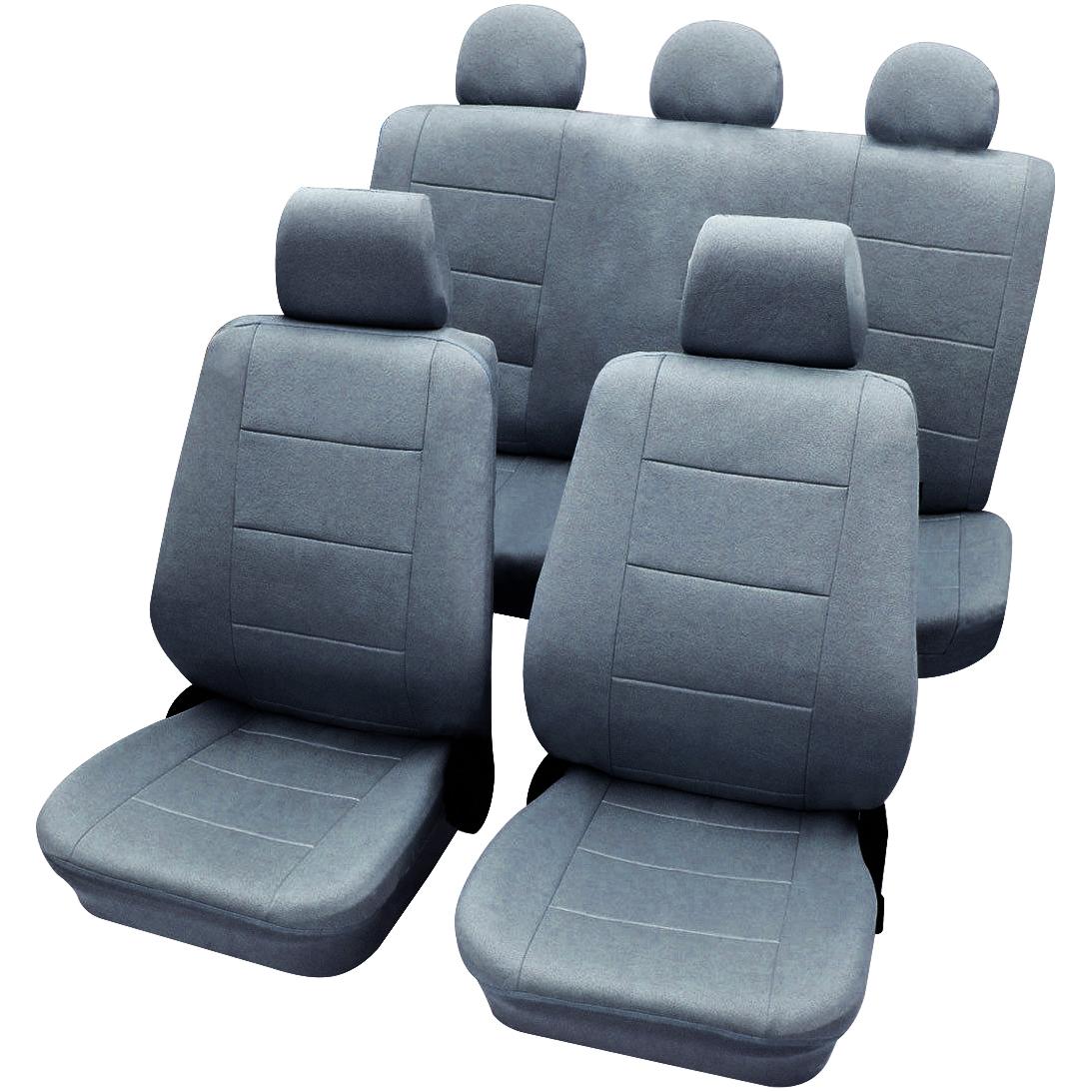 auto sitzbez ge sitzbezug schoner f r pkw ohne seitenairbag grau as7313gr ebay. Black Bedroom Furniture Sets. Home Design Ideas