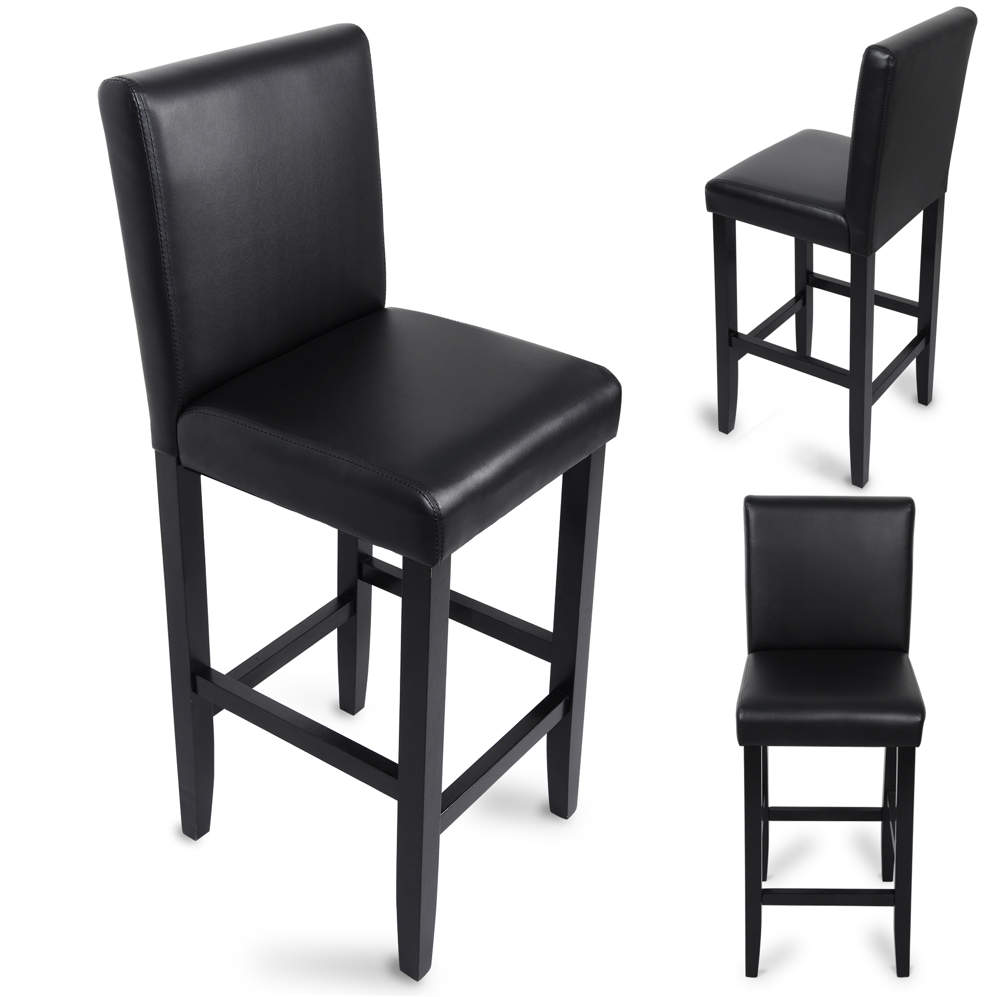barhocker tresenhocker bistrohocker mit lehne hocker. Black Bedroom Furniture Sets. Home Design Ideas