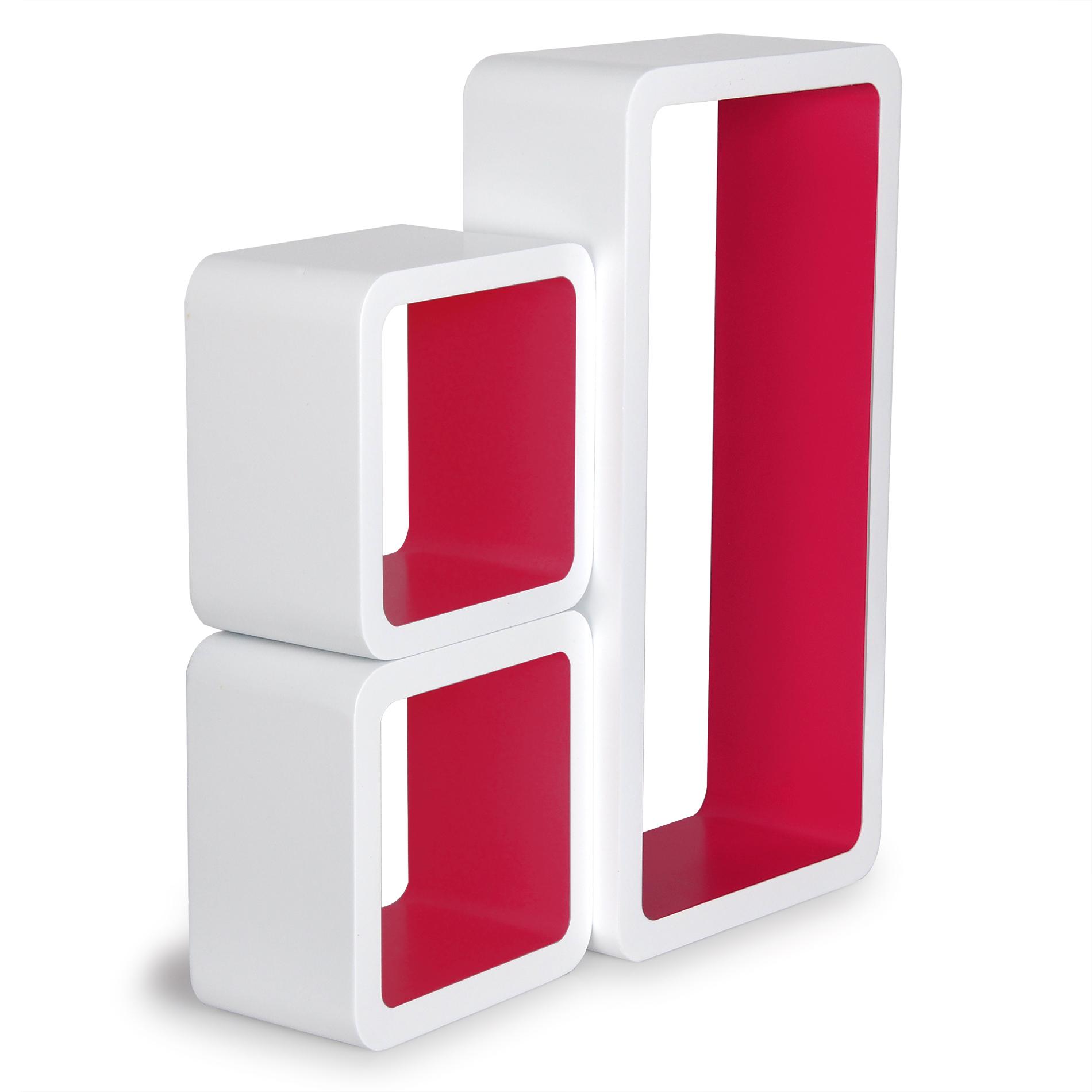 wandregal b roregal h ngeregal holz mdf b cherregal cube lounge cd regal e067 ebay. Black Bedroom Furniture Sets. Home Design Ideas
