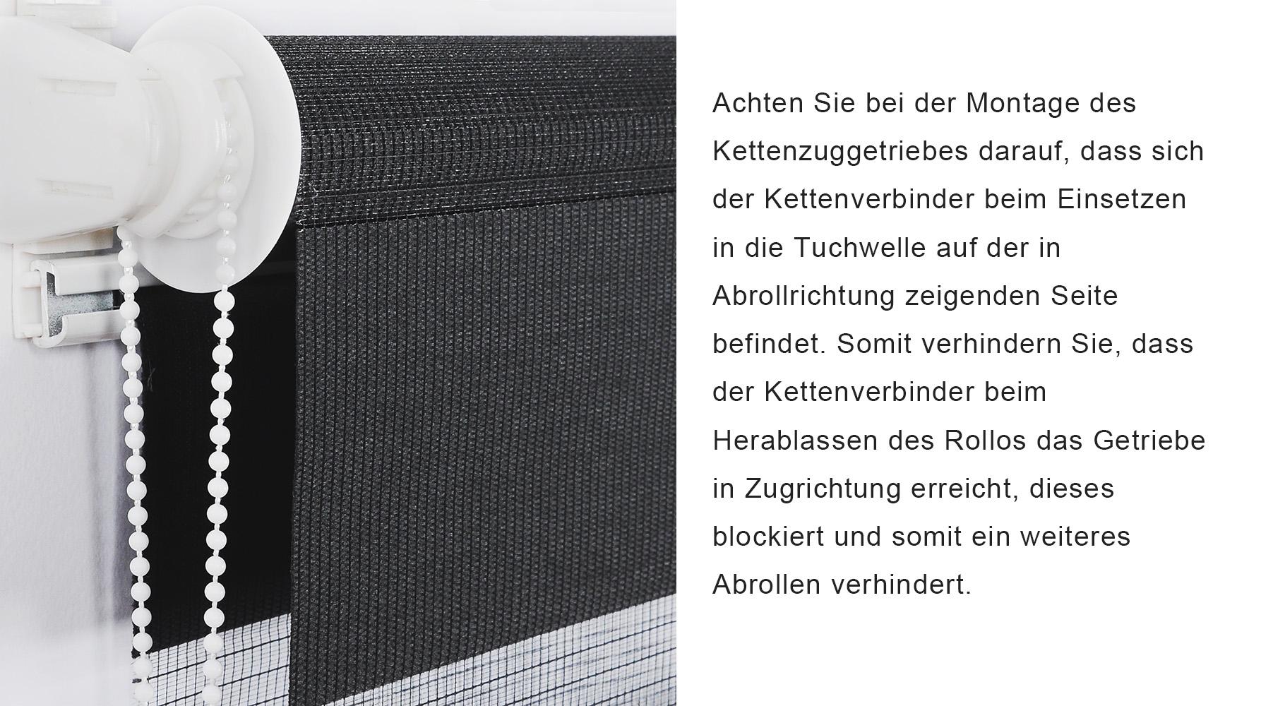 duo rollo doppelrollo klemmfix ohne bohren rollo fenster t r seitenzugrollo 941 ebay. Black Bedroom Furniture Sets. Home Design Ideas