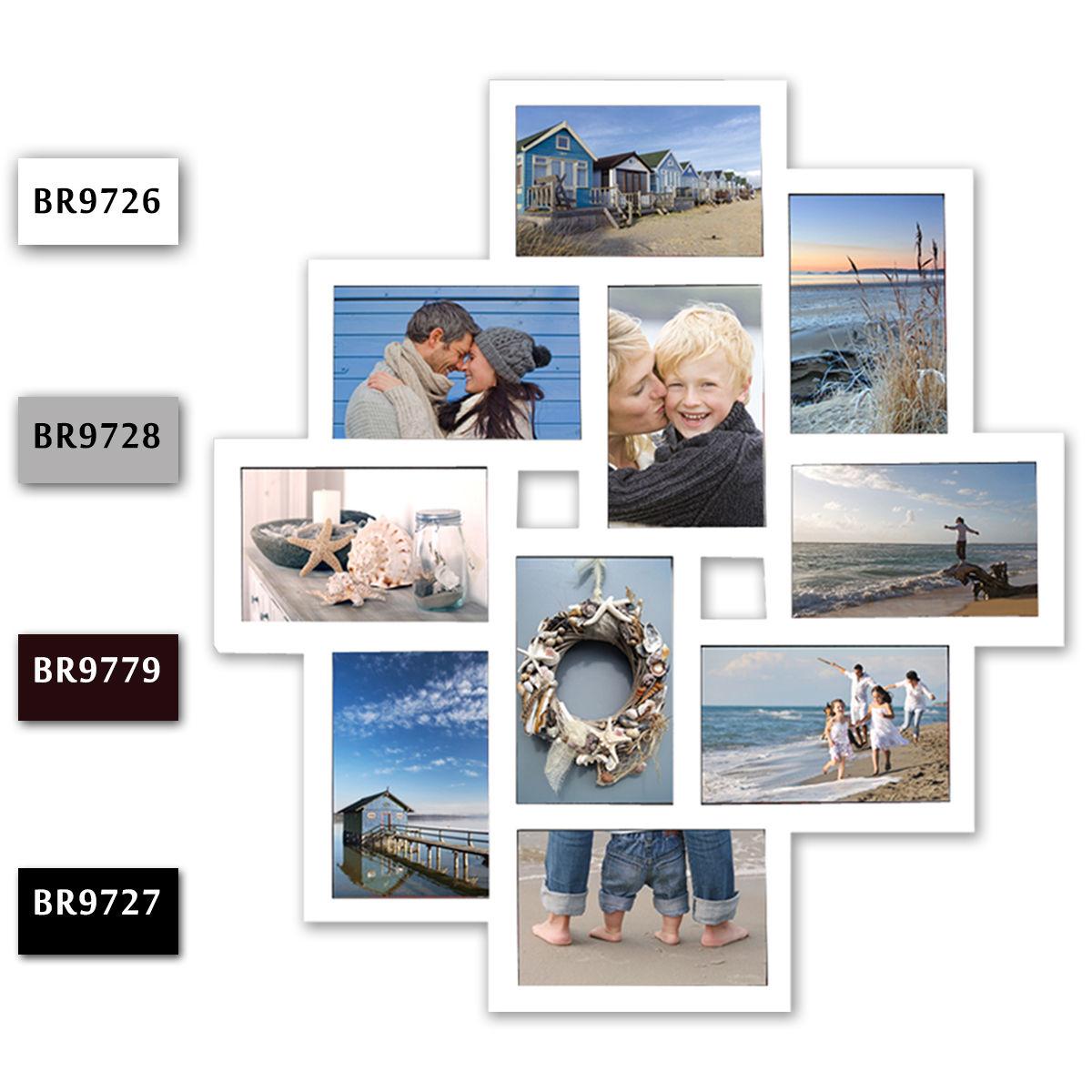 Bilderrahmen Foto Galerie Fotorahmen Bilder Collage Kunststoff 10 ...