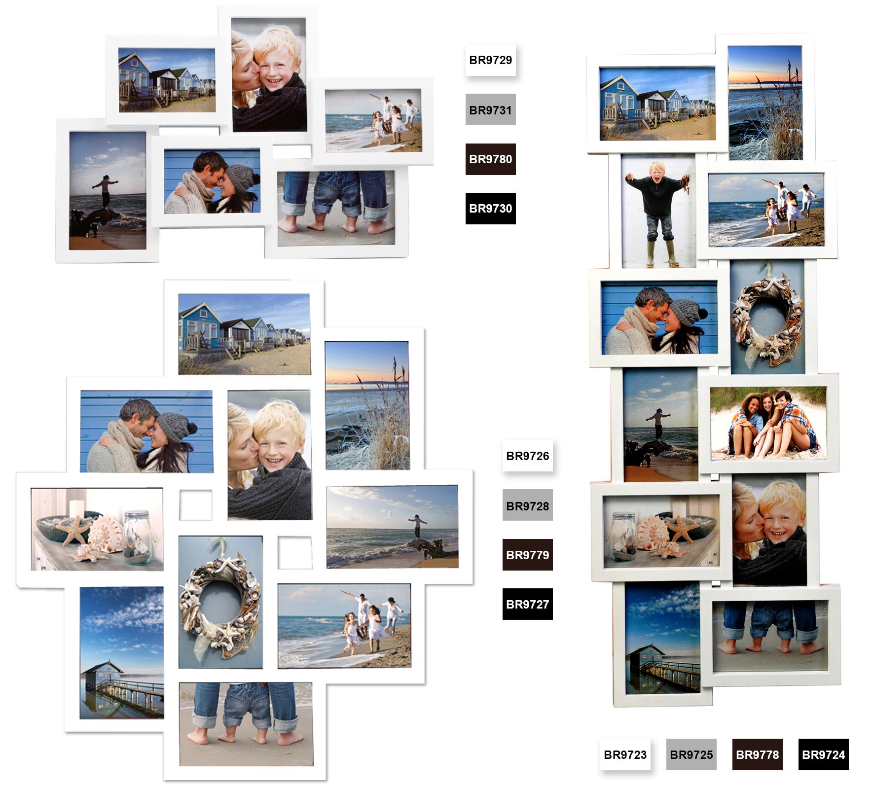 Bilderrahmen Fotogalerie Holiday Foto Collage Rahmen Galerie ...