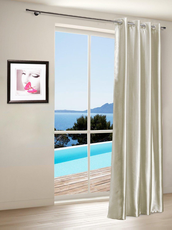 gardine vorhang verdunklungsgardine mit sen blickdicht 6. Black Bedroom Furniture Sets. Home Design Ideas