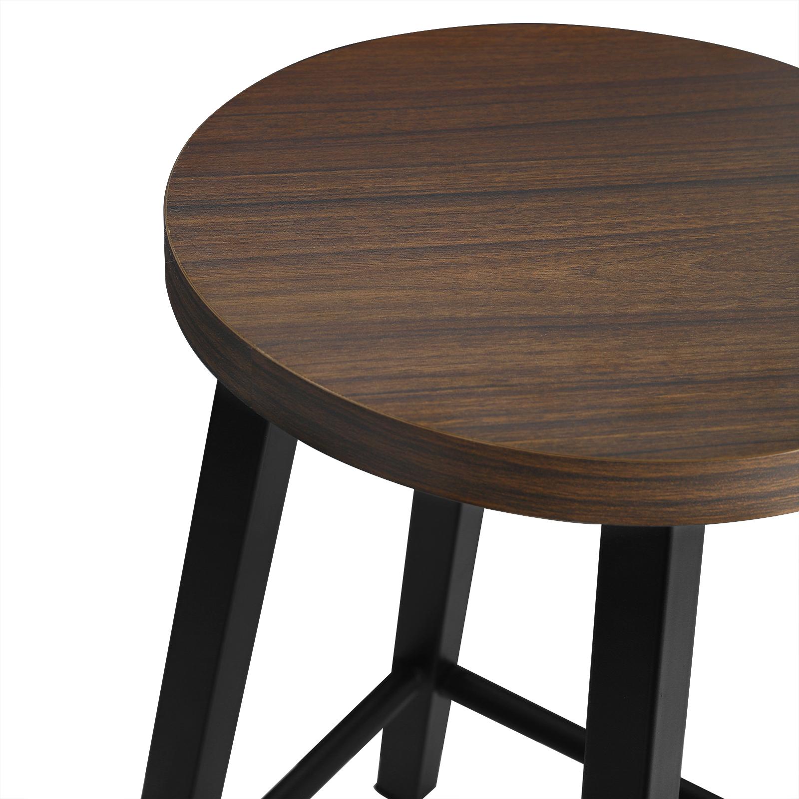 Indexbild 6 - 2 X Esszimmerstühle Küchenstühle aus Metall und Holz,Dunkelbuche BH297dc-2